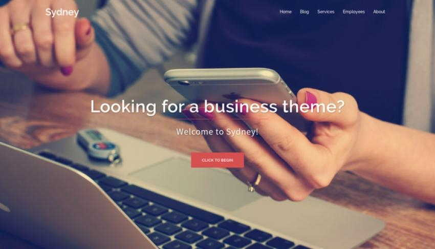 Sydney - free Wordpress theme