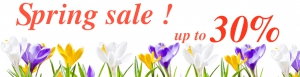 Spring sale from Ordasoft!