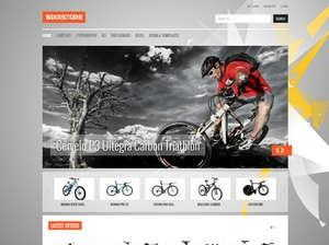 BIKE STORE ONLINE SHOP JOOMLA TEMPLATE