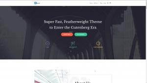 Neve -  free Wordpress theme