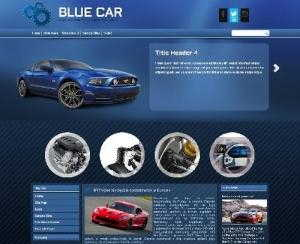 DD Blue Car 41