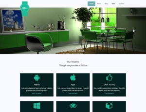 Office - Free Responsive Multipage Bootstrap Template for Small and Medium Business