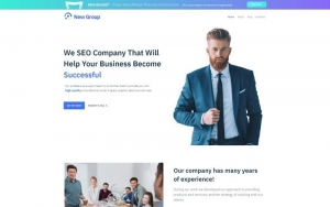 Free WordPress Theme for Consulting