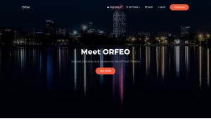Orfeo - free Wordpress theme