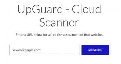 UpGuard Web Scan