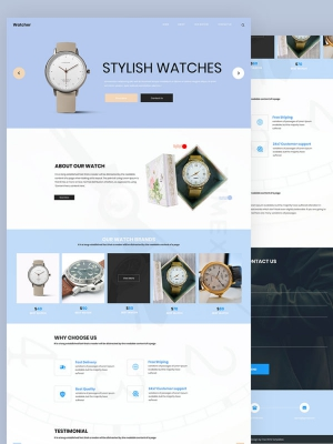 Watcher – Watch HTML Template