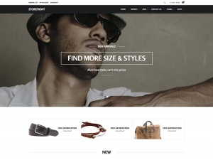 STOREFRONT CLOTHING JOOMLA TEMPLATE