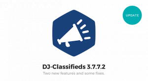 DJ-Classifieds 3.7.7.2 stable version released