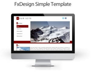 FxDesign Simple Template