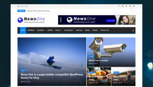 News One Wordpress theme
