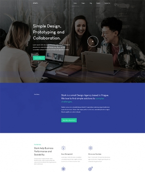 JA Stark is a creative FREE Joomla template for business