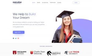 Executive - Free Bootstrap 5 HTML5 Academic Website Template