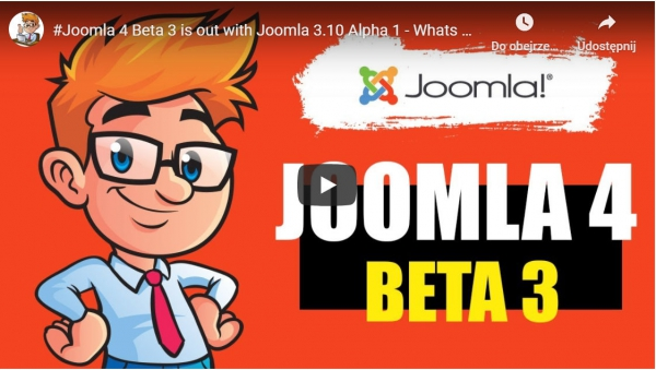 Joomla 4 Beta 3 is out with Joomla 3.10 Alpha 1 - Whats New in It?