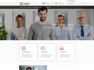 TC Theme 41 free Joomla business template