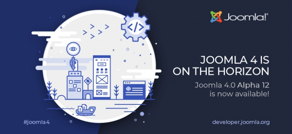 Joomla 4 is on the horizon … Alpha 12