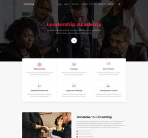 JSN Finance - template for finance and consulting site
