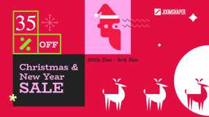 35% Christmas and New Year Discount on All JoomShaper Products!