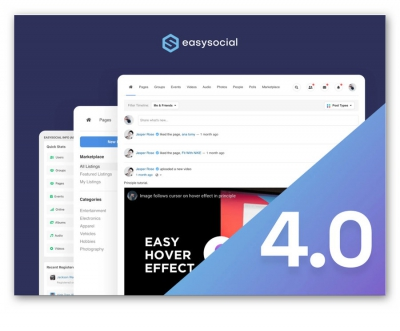 EasySocial 4.0 Beta Released