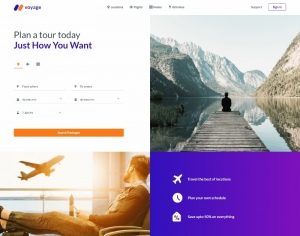 Voyage - Free Responsive Bootstrap 5 HTML5 Travel Website Template