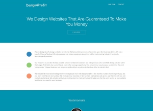 Design4Profit - An Elegant Responsive Business Template