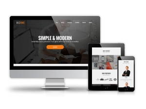 zOne - Joomla  One Page Template