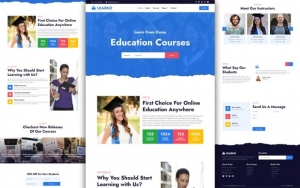 Edukate – Online Education Website Template
