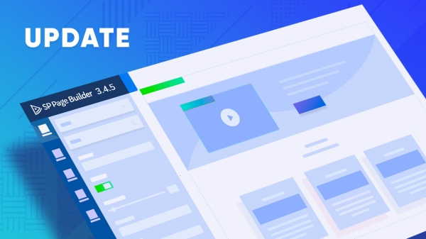 SP Page Builder 3.4.5 Pro brings tons of improvements and tweaks