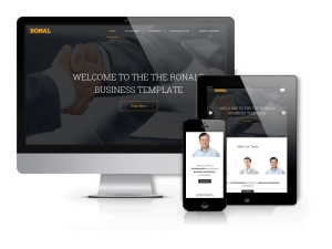 Ronal - Professional  Business Joomla Template