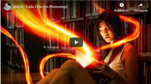 MAGIC Trails Effect in Photoshop!