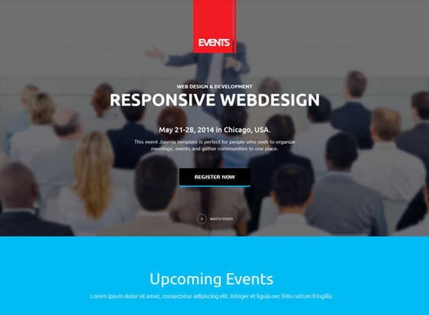 EVENT JOOMLA TEMPLATE
