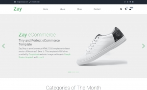 Zay Shop - Free Bootstrap 5 HTML5 Responsive Ecommerce Website Template
