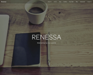 Renessa - A Free Responsive Multipurpose Bootstrap Template for Agency and Personal Website