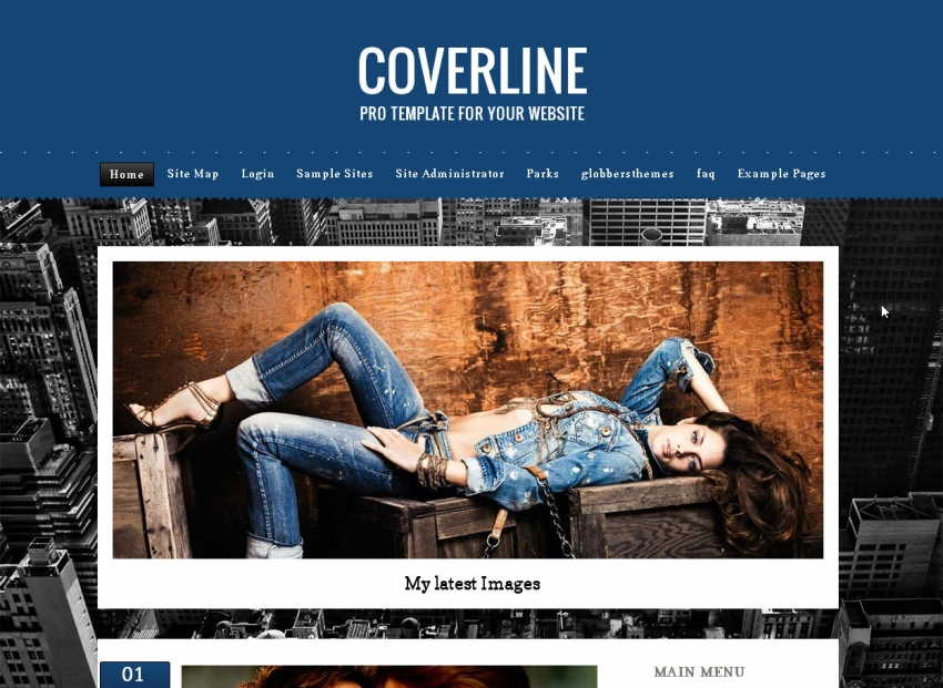 COVERLINE BLUE