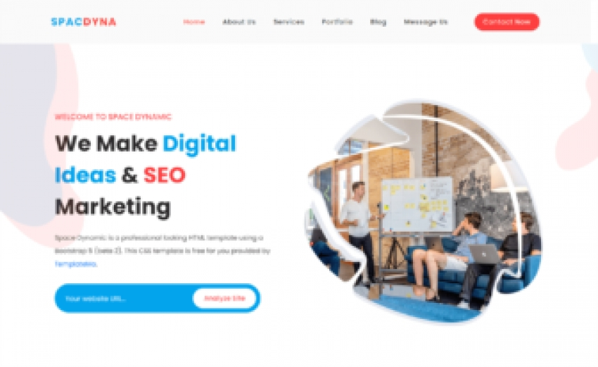 Space Dynamic - Free Bootstrap 5 HTML5 Digital Marketing Website Template