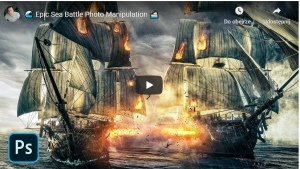 Epic Sea Battle Photo Manipulation