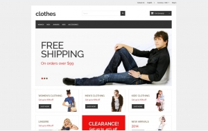 Clothes PrestaShop Themes 1.6 free