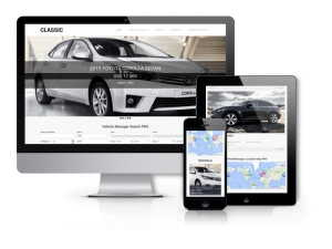 Vehicle Park - Car Rental Website Template