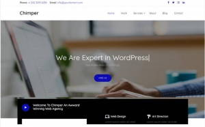 Himper - Free HTML5 Bootstrap 4 Business Website Template