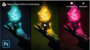 Magic Flame Effect in Photoshop