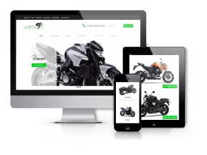 Yamoto - Motorcycle Website Template