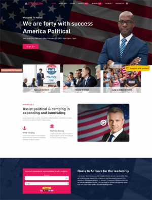 ET Govern - free joomla template