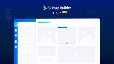 SP Page Builder 3.6.2 Pro Update: Joomla Caching Support, Addon Improvements, and Fixes
