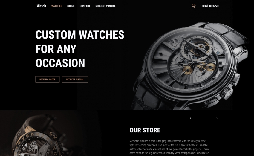 Watch - Free Responsive Bootstrap 5 HTML5 Business Website Template