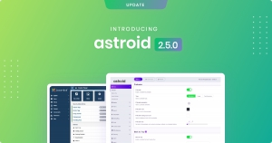 Introducing Astroid 2.5 - Template Zero & One Now Compatible with Joomla 4