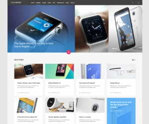 TechNews Reviews Joomla Template