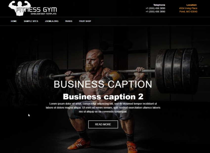 DD Fitnessgym 96