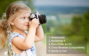 Nature – HTML Photography Template