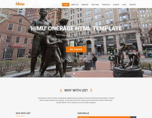 Himu - Free Responsive Bootstrap Template