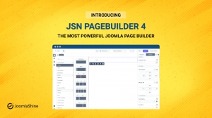 Introducing JSN PageBuilder 4 - The most powerful Joomla Page Builder