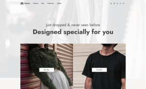 Majestic - Free Bootstrap 5 HTML5 eCommerce Website Template